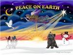 CHRISTMAS SUNRISE<br>& Cairn Terrier