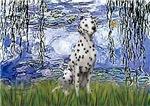 WATER LILIES<br>&Dalmatian #1