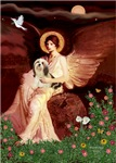 SEATED ANGEL<br>&Lhasa Apso #4