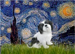 STARRY NIGHT<br>&Lhasa Apso #2