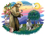 St. Francis #2 &<br>Keeshond