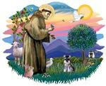 St. Francis #2 &<br> Schnauzer (miniature)