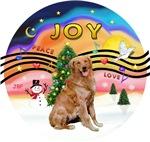 CHRISTMAS MUSIC #2<br>Golden Retriever #3