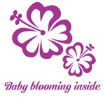Baby blooming inside - with two flowers
