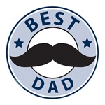 Mustache Father's Day T-shirts and Gifts