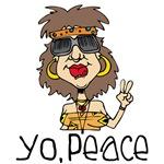 Hippy T-shirts, Decor, Hippy Gifts