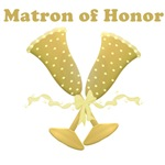 Golden Matron of Honor T-shirts, Gifts