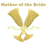 Golden Mother of the Bride T-shirts Gifts