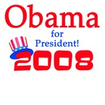 Obama for President T-shirts and Election Swag