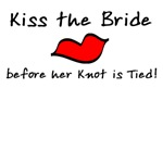Kiss the Bride T-shirts and Products
