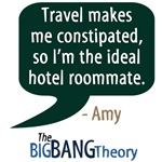 The Big Bang Theory Amy Quote T-shirts