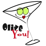 Olive You I Love You T-shirts and Gifts