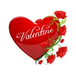 Valentine Heart & Roses Gifts, Jewelry, Clothes