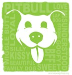 Pitbull Love - lime