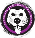 Sterilize/Educate/Advocate - purple