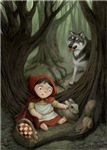 Little Red Riding Hood Prints & Cards