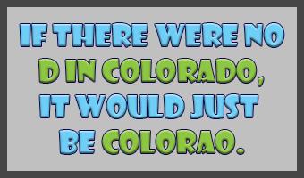 No D in Colorado (April, 2016)
