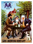 Lion Brewing Company Vintage Beer Advertising Prin