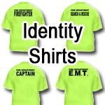 Identity Shirts - Front & Back Print