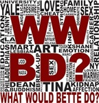 What would Bette do? Word Cloud