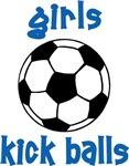 Girls Kick Balls