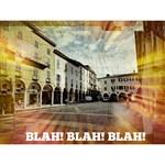 Blah! Blah! Blah! View of Novara in Abstract Form