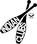 Indian Clubs with lettering LG