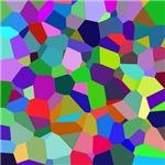 Vibrant Voronoi Art