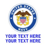 US Navy Sign Personalized
