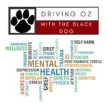 Driving Oz logo plus mental health