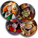 Character MiniButtons