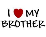 I LOVE MY BROTHER I HEART MY BROTHER BABY CLOTHES