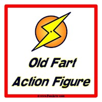 Old Fart Action Figure