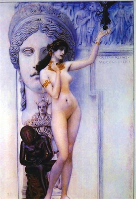 Klimt - Allegory of Sculpture