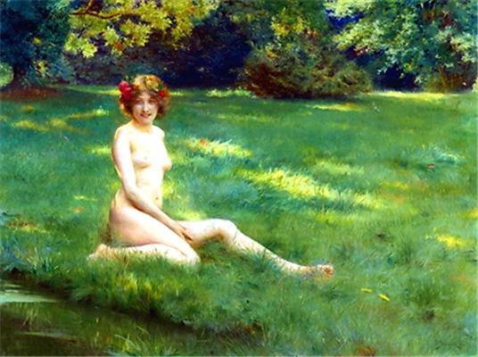 Stewart - Naked on Lawn