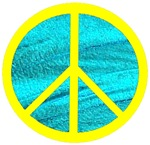 Peace Yellow Peace Symbol