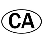 CALIFORNIA OVAL STICKERS & MORE!