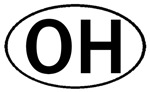 OHIO OVAL STICKERS & MORE!
