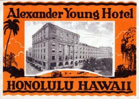 Alexander Young Hotel Hawaii