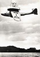 1935 Seaplane in Flight