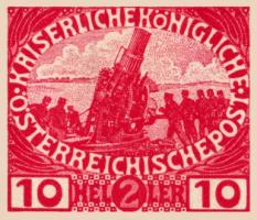 1915 Austro Hungarian Stamps