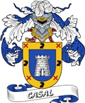 Casal Coat of Arms, Family Crest