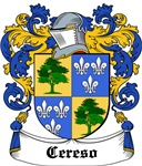 Cereso Coat of Arms, Family Crest