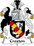 Croxton Family Crest