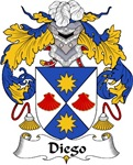 Diego Family Crest