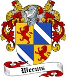 Weems Family Crest, Coat of Arms