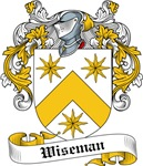 Wiseman Family Crest, Coat of Arms