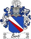 Berti Family Crest, Coat of Arms