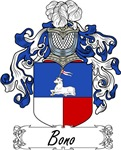 Bono Family Crest, Coat of Arms