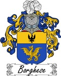 Borghese Family Crest, Coat of Arms